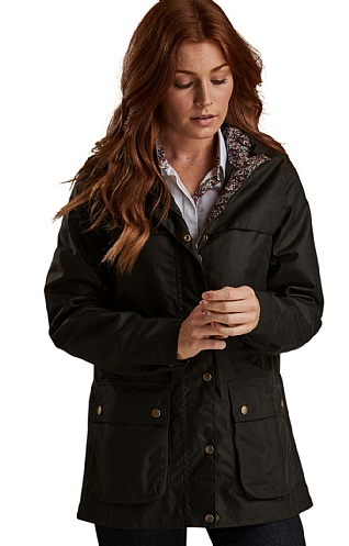 Barbour Lillian Wax Jacket