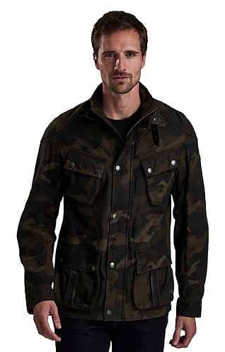 Barbour International Washed Casual Jacket