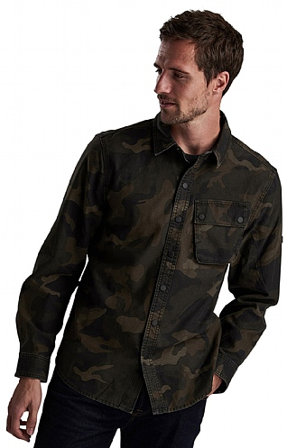 Barbour International Camo Overshirt