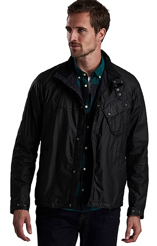 Barbour International Beech Wax Cotton Jacket