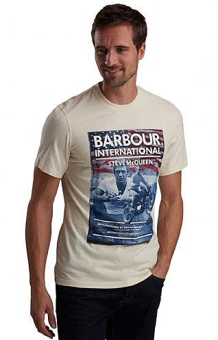 Barbour International Steve McQueen Hero Tee