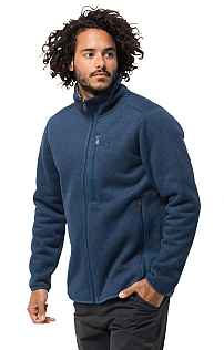 Jack Wolfskin Robson Fjord Knit Fleece Jacket