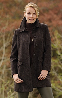 Ladies Harris Tweed Coat