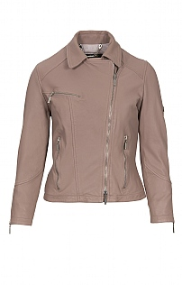 Barbour International Triple Leather Jacket