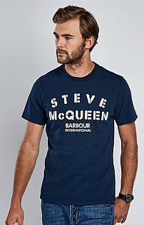 Men's Barbour International Stencil Tee