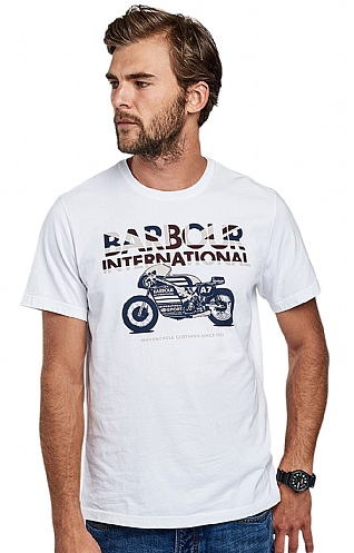 Barbour International Union Racer Tee