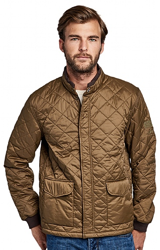 Barbour International Cross Quilt Jacket