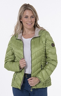 Lebek Hooded Quilted Jacket
