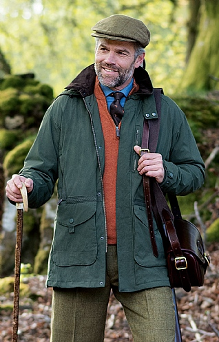barbour mens waterproof coat