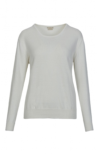 Cotton & Cashmere Crew Neck