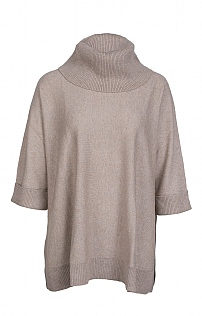 Oversized Cowl Tunic