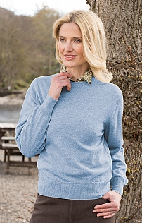 Ladies Merino Crew Neck