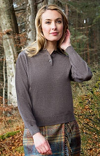 Ladies Merino Shirt Neck