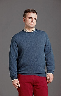 Mens Merino Crew Neck