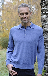 Scottish Glenshiel Merino Wool Shirt Neck