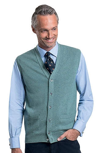 Barrie 3 Ply Cashmere Waistcoat