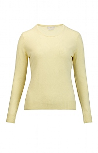 Ladies Cashmere 2 Ply Crew Neck
