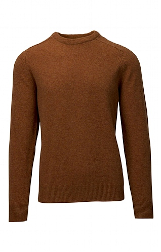 House of Bruar 2 Ply Lambswool Crew Neck