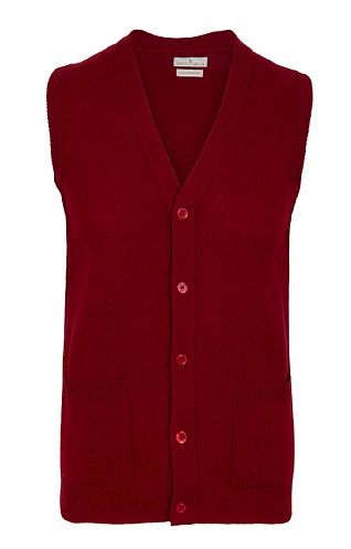 House of Bruar 2 Ply Lambswool Waistcoat