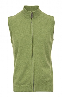 Mens Country Lambswool Gilet