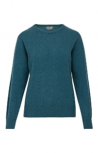 House of Bruar Lambswool Crew Neck