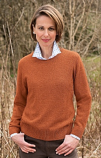 Ladies Country Lambswool Crew Neck