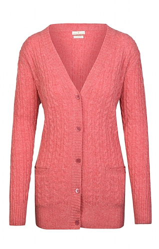 Country Lambswool Cable Pocket Cardigan