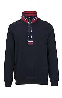 Claudio Campione Cotton T-Zip Sweater