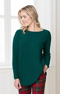 Silk & Cashmere Relaxed Tunic