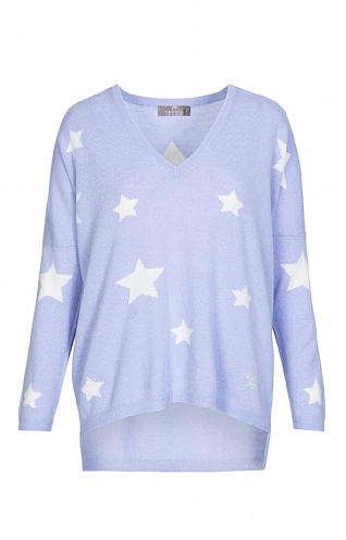 Cashmere Stars And Back Jumper