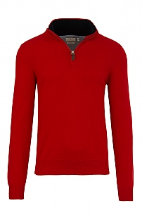 Mens Cotton T-Zip