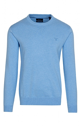 Gant Light Cotton Crew Neck Jumper