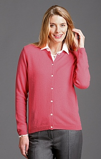 Ladies Cashmere Cardigan