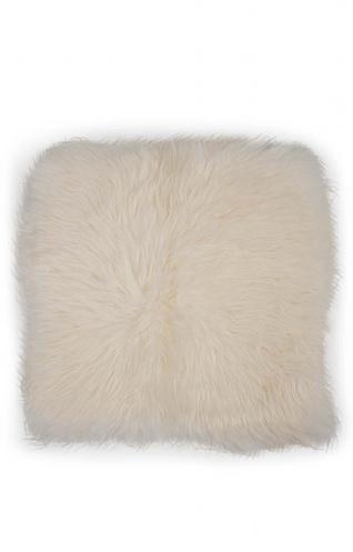 Square Sheepskin Cushion