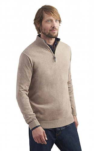 Men's Joules Hillside Half Zip Jumper