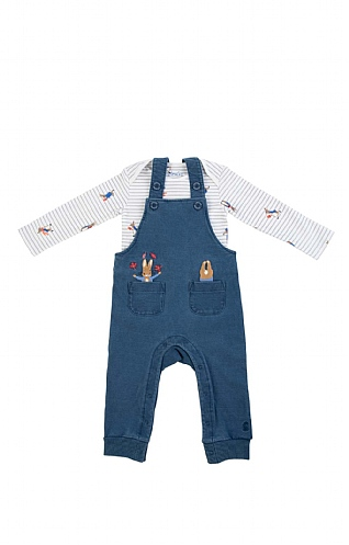 Joules Peter Rabbit Wilbur Denim Dungaree Set