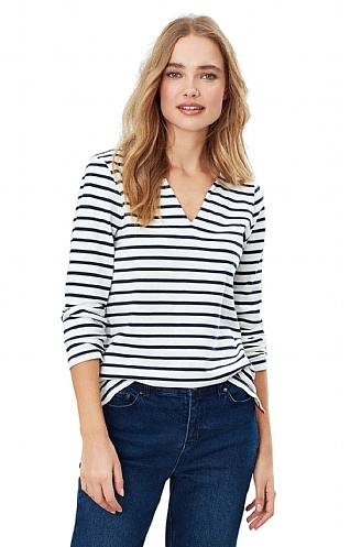 Joules Harbour Notch Neck Top