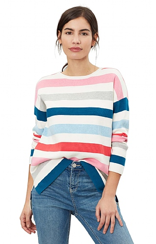 Joules Milano Stripe Knitted Jumper