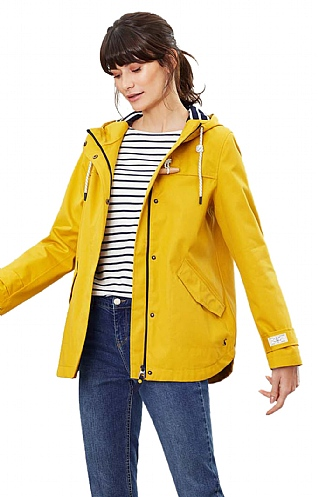 Joules Waterproof Lined Hooded Jacket