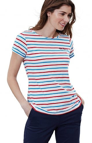 Joules Nessa Embroidered T Shirt