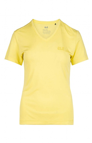Ladies Jack Wolfskin Crosstrail T-Shirt