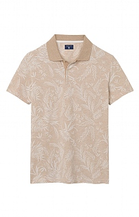 Gant Leaf Print Polo Shirt