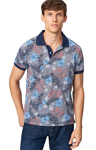 Gant Multi Flower Polo Shirt