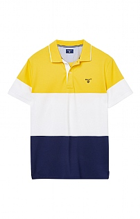 Gant Colour Block Polo Shirt
