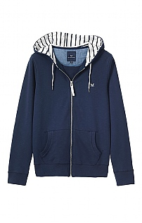 Crew Clothing Zip Through Hoodie
