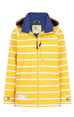Lazy Jacks Stripe Waterproof Jacket