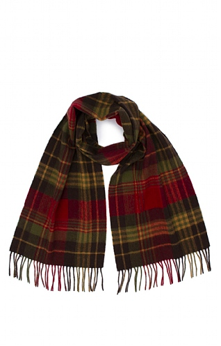 Barbour Bright Country Check Scarf