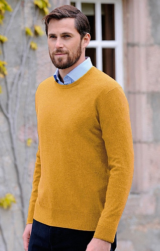 Men's Cashmere Crew Neck