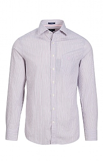 Mens Broadcloth Stripe Shirt