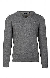 Gant Mens Cotton V-Neck